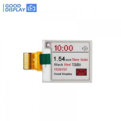 1.54 inch three color red e-paper display panel small size
