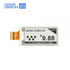 2.13 inch e-ink display Low temperature e-paper screen module GDEWH0213D30LT