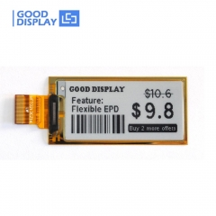 2.13 inch e-paper display flexible ultra-thin partial refresh eink screen module GDEW0213I5F