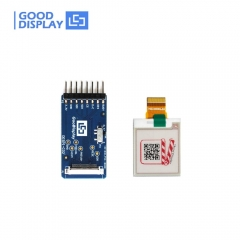 1.54 inch Three colors red epaper screen module 200x200 SPI interface with connector demo