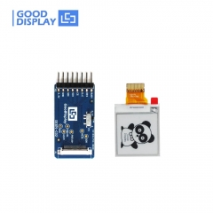 1.54 inch Low temperature e paper display module with demo connector board