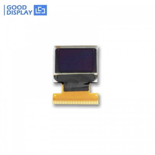 0.66 inch small mini blue OLED Display Module