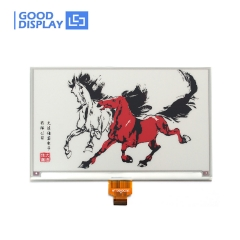 7.5 inch Large three colors red e-paper display higher resolution 800x480 GDEW075Z08