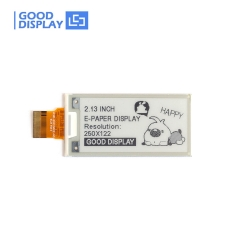 2.13 inch e-paper display partial refresh small-size e-ink screen module GDEH0213B73