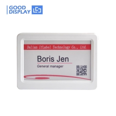 7.5 inch electronic shelf label, For retail, conference and industrial tag single screen