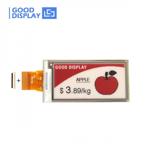 2.13 inch Tri-color red eink display SPI interface epaper screen module GDEM0213U23