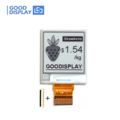e-paper display 1.54 inch 152x152 SPI interface 4 Grayscale eink display partial refresh GDEW0154T8