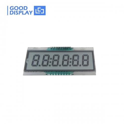 Ultra wide temperature 6 Digits LCD Panel EDS809