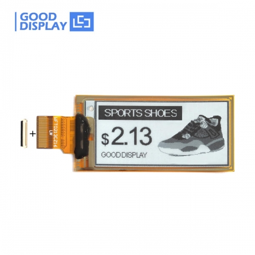 2.13 inch e-paper display flexible ultra-thin partial refresh 4 Grayscale eink screen module GDEW0213I5F