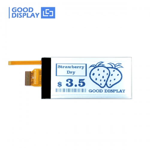 2.9 inch e-paper display with frontlight backlit partial refresh E-ink GDEW029T5-FL02